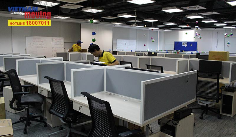 Dự án chuyển văn phòng Tập đoàn Vingroup 3
