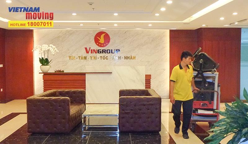 Dự án chuyển văn phòng Tập đoàn Vingroup