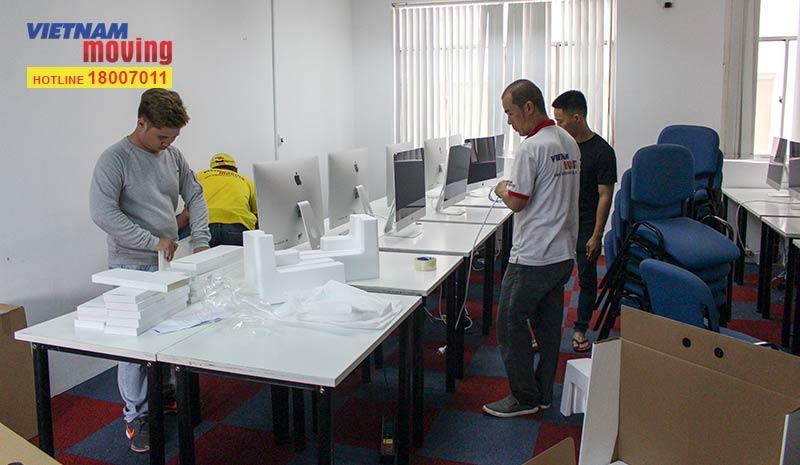 Dự án vận chuyển học viện Công nghệ và Nội dung số VTC Academya 1