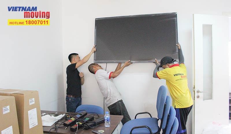 Dự án vận chuyển học viện Công nghệ và Nội dung số VTC Academya 8