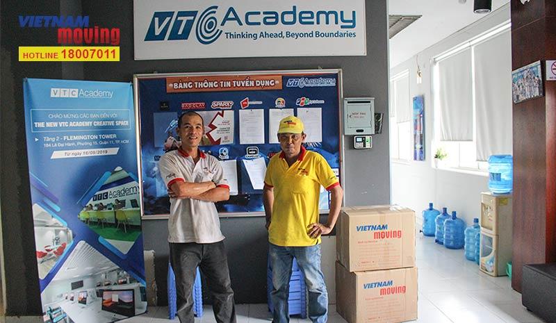 Dự án vận chuyển học viện Công nghệ và Nội dung số VTC Academya