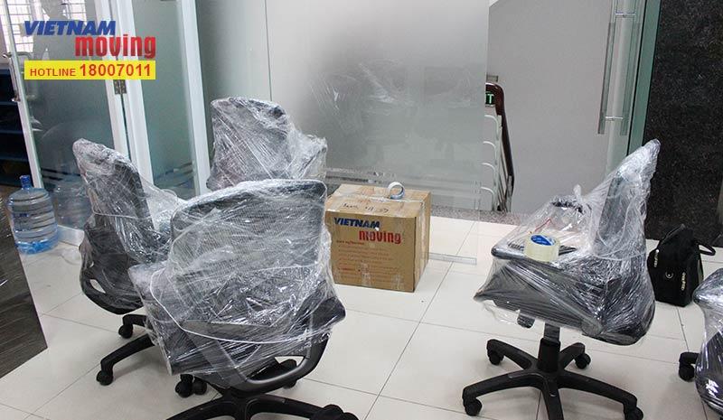 Dự án chuyển văn phòng công ty Whalen Furniture Việt Nam 1