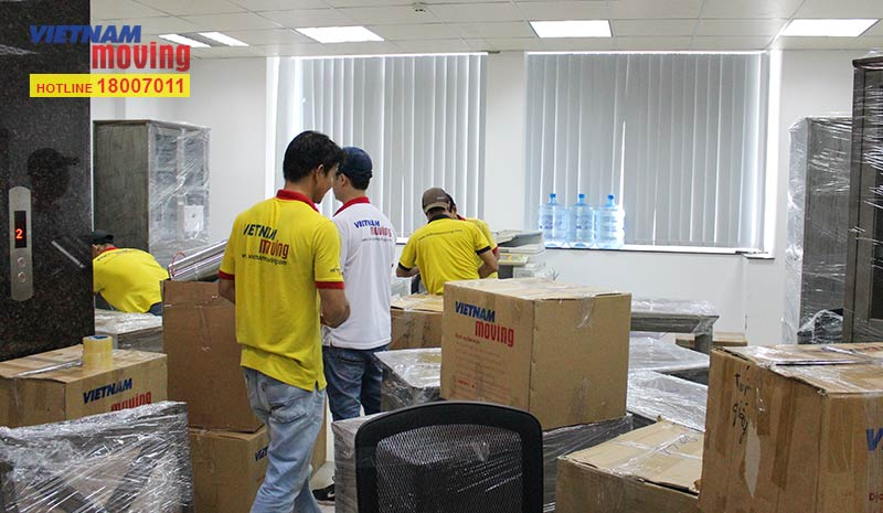 Dự án chuyển văn phòng công ty Whalen Furniture Việt Nam 2