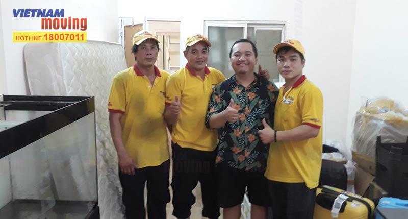 Khách hàng chuyển nhà trong tháng 3 hài lòng với dịch vụ Kiến Vàng Hà Nội (kienvanghanoi.vn)