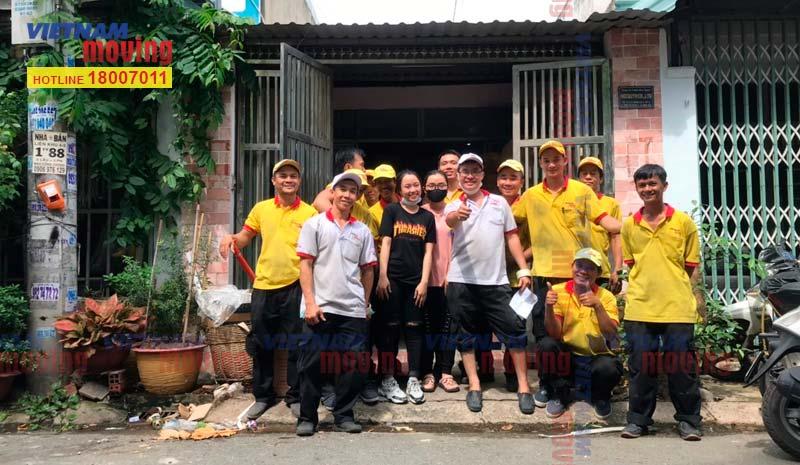 Dự án chuyển kho xưởng cho Chị Châu tại Quận Tân Bình