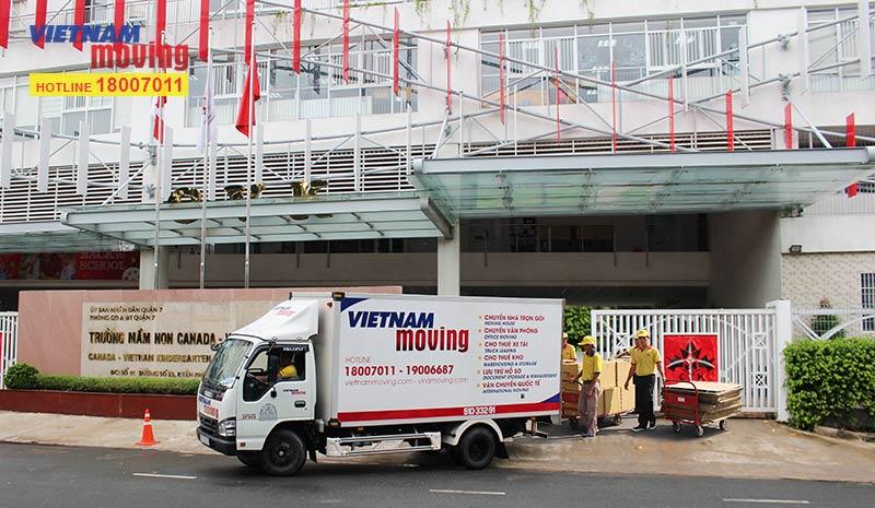 Dự án vận chuyển trường mầm non Canada - Việt nam
